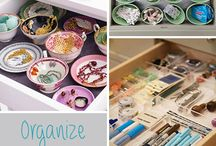 organized / by Mary Mealey