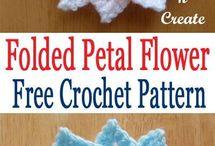 crochet flowers for childs dress