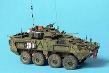 Wheeled armored