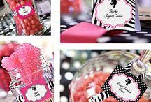 Labels lollie jars