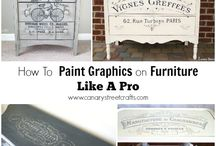 Painted graphics