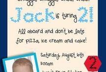 choo choo birthday party ideas