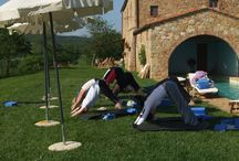 Yoga Holidays under the Tuscan sun / Amazing location, right outside Pienza, in the middle of the iconic Tuscan hills of Val d'Orcia (UNESCO site), great yoga instructors, superb vegetarian food, lots of activities and holistic therapies. Great prices too! www.completelyyogaholidays.com