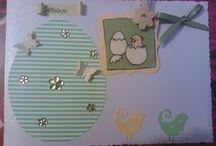 Easter handmade cards