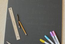 birthday chalkboard / by Natasha Adkins