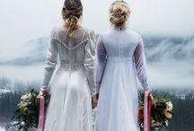 Vintage Vancouver Island Brides / Vintage Bridal Gowns on Vancouver Island