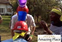 Wacky Wet Weird and Wonderful Team Building at The Amazing Place / The Wacky, Wet, Weird and Wonderful themed team building event is a diverse team building where you can select your own activities or allow us to surprise you.