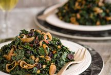 Kale and other salads