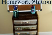 How To Organize For Back-To-School At Home / Organizing your home for back to school. ^KM