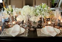 Lovely tables arrangements