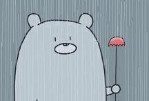 cute, funny, illustrations