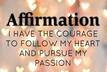 AFFIRMATIONS!!
