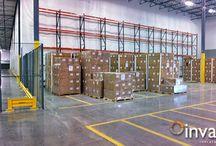 3PL | Insulated Warehouse Curtain Wall | Creates Cooler Room / Randall's InsulWall®, insulated warehouse curtain wall, creates a cooler room for blood management