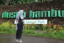 DUsun Bambu Lembang / Dusun Bambu Family Leisure Park adalah sebuah ekowisata dalam bentuk konservasi bambu dengan konsep 7E yang terdiri dari Edukasi, Ekonomi, Etnologi, Etika, Estetika, dan Entertainment. Dengan dasar 7E terserbut Dusun Bambu bermimpi menjadi ekowanawisata pertama yang berada di Jawa Barat