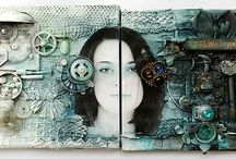 Mixed Media Art / by Ivie Gunderson Phillips