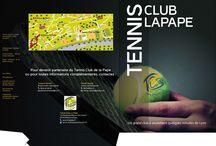 Presentation Folder - Tennis Club La Pape