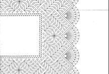 Lace corners