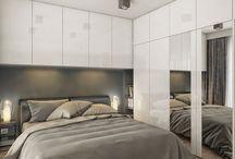 sypialnia z zabudowa