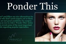 Ponder This: Botox and Filler / Take years off your face without surgery.