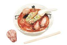 Justine Wong Illustration / http://www.patternsandportraits.com