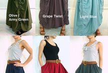 Lagenlook skirt