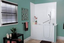 Premier Care Product Showcase / A showcase for our stylish and functional walk-in bathtub and shower combos, ADA-compliant handicap showers and accessories, corner tubs, showers for small bathrooms, and walk-in showers.