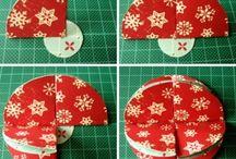 handmade xmas decorations 2015-2016
