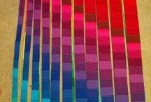 gekleurde strepen