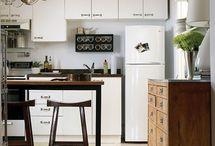 Small kitchen ideas / by Lana Soroka
