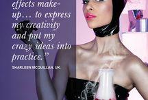 Kryolan INSPIRED / 12 Months, 12 Inspirational Quotes & 12 Breathtaking Make-up looks create #KryolanINSPIRED