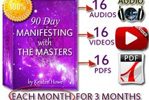 90 Day MANIFESTING with THE  MASTERAS by Kristenasters