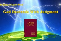 """The Hymn of God's Word """"God Descends With Judgment""""   The Church of Almighty God"""