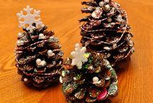 Pine cone crafts kids
