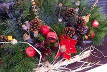 Vánoční truhlíky