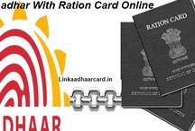 Link Aadhaar Card With Ration Card