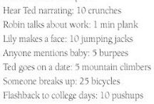 TV shows workout