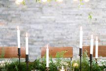 Natural green wedding
