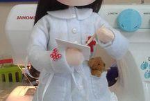 hermosa muñeca de trapo