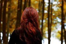 autumn glows / by Jane Galloway