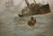 素晴らしき船の絵たち