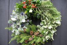 wreaths etc.