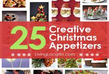 Christmas Appetizers and Hors d'oeuvres