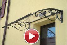 Domovní stříšky - house canopies