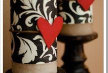 * bougies décorée *