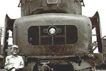 Treni stile Nord Americano / treni a vapore