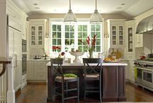 Kitchen design / by Robyn Lindars