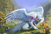 Griffin / Griffon / Manticore / Please Like and Pin ! Thank you