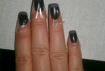Impressive Nails / Don't be stuck with only way to use scotch tape.  Use it for your nails desire !