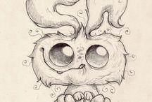 Dibujos De Monstruos