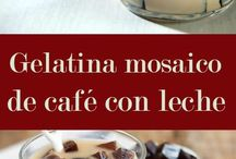 gelatina café leche